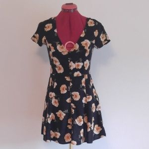 Forever 21 Floral Button Down Sundress